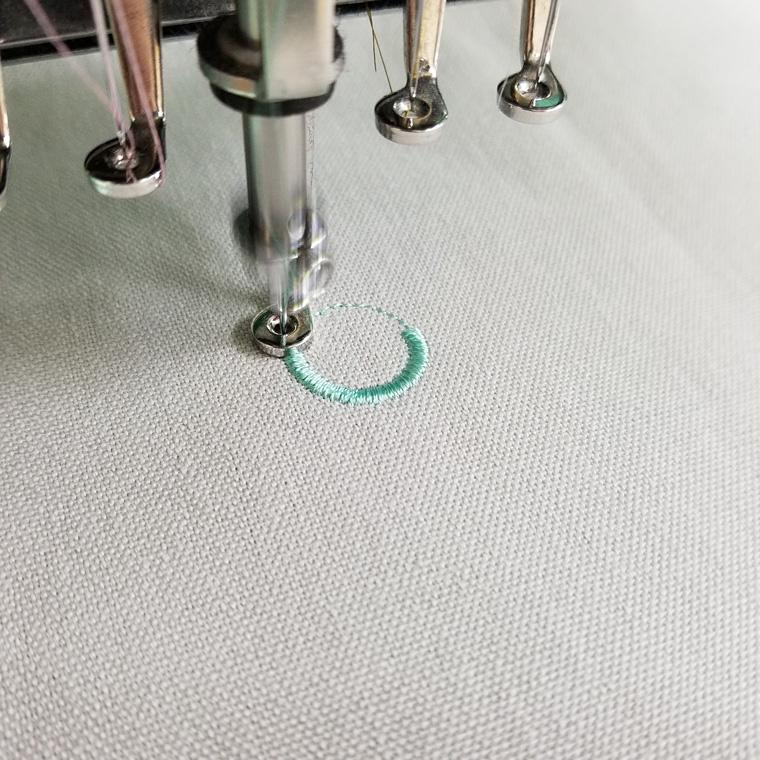 刺繍の流れ4