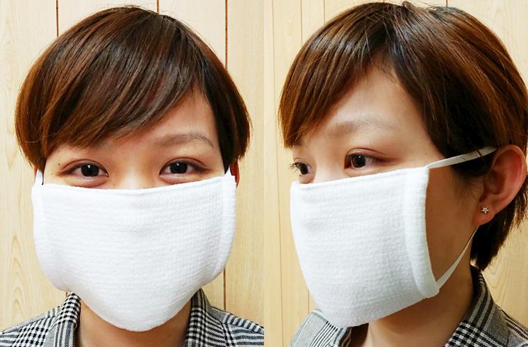 今治タオルマスク 365日マスク 使用イメージ