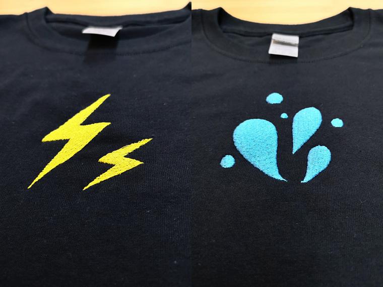 制作事例 オリジナルTシャツ1