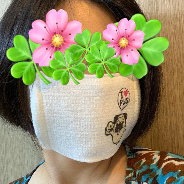 今治タオルマスク オリジナルプリント1